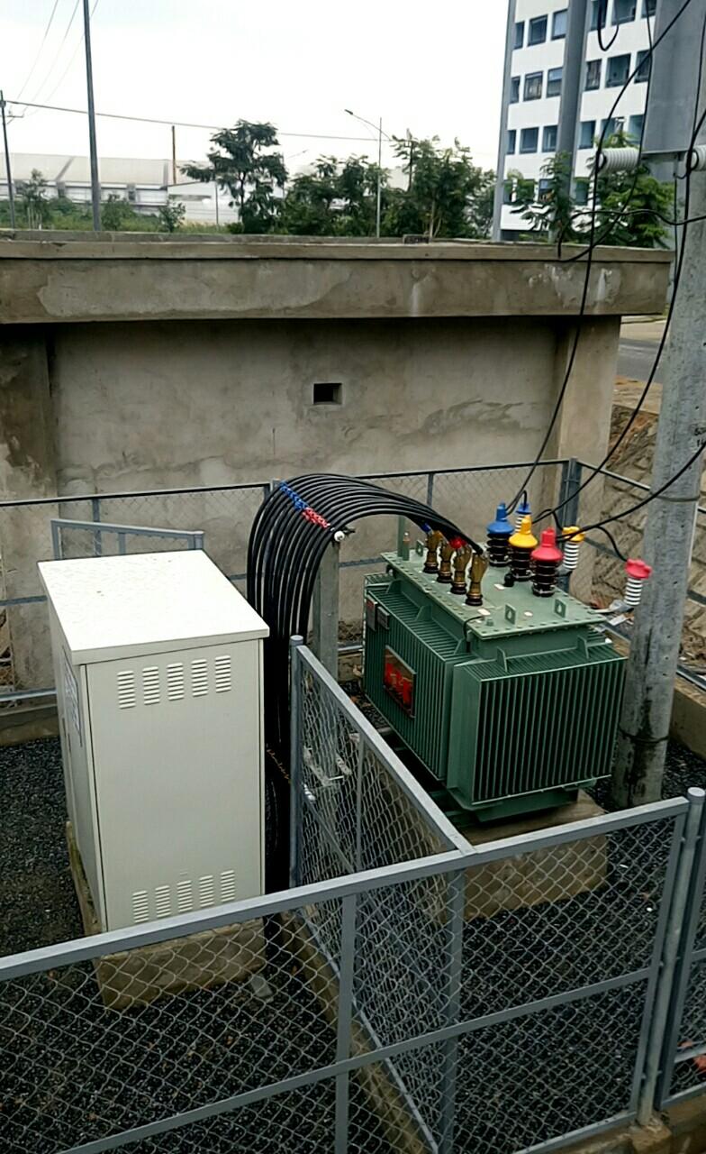 Trạm biến áp 1250 kVA tại KCN Hòa Khánh
